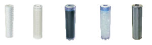Water filter cartridges for water harvesting