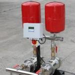 Water pressure boosting set