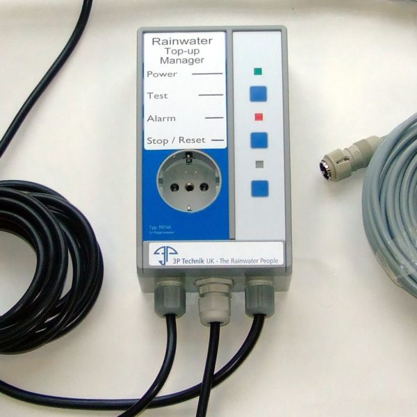 Water system electronic top-up controller