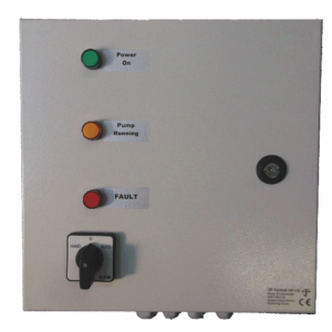 3 phase pump control panel