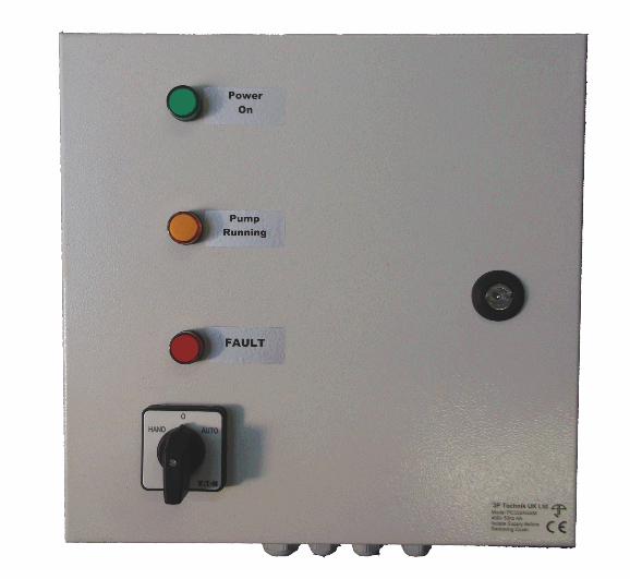 3 phase pump control panel