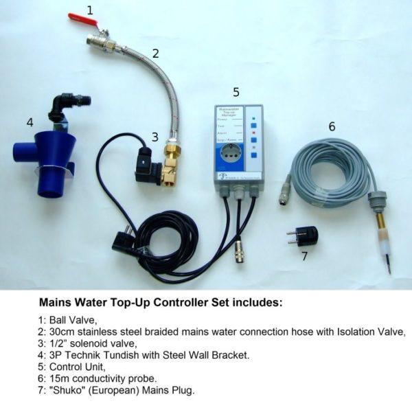 Mains Water Top-Up Controller